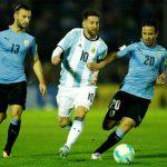 Argentina và Uruguay cầm chân nhau ở vòng loại World Cup