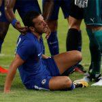Pedro bị vỡ mũi, phải nhập viện giữa trận Chelsea - Arsenal
