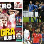 Italy và Chile le lói hy vọng dự World Cup 2018