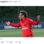 Tài khoản PSG biểu lộ sự hân hoan ngay sau thất bại của Barca