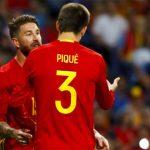 Ramos công kích Pique về thông điệp ủng hộ tách xứ Catalonia