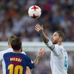 Cầu thủ Girona tái hiện màn ném bóng chọc tức Sergio Ramos