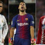 Ronaldo, Suarez, Griezmann: Ba ngôi sao mất đi ánh sáng tại La Liga