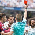 Đội phó Real Madrid nhận án treo giò hai trận ở La Liga