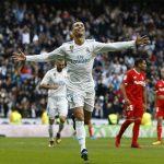 Ronaldo lập cú đúp, Real đại thắng Sevilla