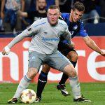 Rooney và Everton thua đậm trong ngày ra quân tại Europa League