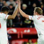 Thắng trận thứ chín, Sevilla uy hiếp vị trí thứ tư của Real Madrid