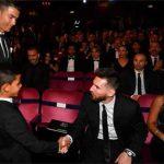 Con trai Ronaldo cảm ơn Messi trước lễ trao Quả Bóng Vàng
