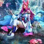 Chìm vào mộng cảnh với những màn cosplay Ahri Chiêu Hồn Thiên Hồ