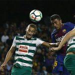 Paulinho: 'Quả đấm thép' của Barca trong các pha không chiến