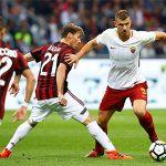 Milan thua Roma trên sân nhà, xuống thứ bảy ở Serie A