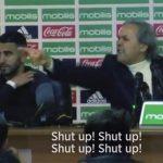 Mahrez sững người khi HLV mắng phóng viên