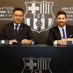Messi ở lại Barca đến 2021, có phí phá hợp đồng 835 triệu đôla