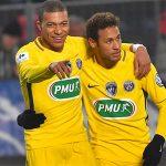 Neymar, Mbappe giúp PSG khởi đầu tưng bừng ở Cup Quốc gia