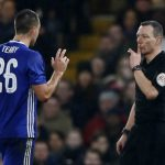 John Terry lĩnh thẻ đỏ trong ngày trở lại đá chính cùng Chelsea