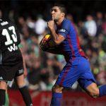 Suarez: 'Bóng đã qua vạch vôi cả mét'
