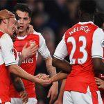 Arsenal đẩy Man Utd trở lại thứ sáu ở Ngoại hạng Anh