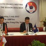 AFF sẽ kiến nghị về nguyên tắc bốc thăm tại SEA Games 29