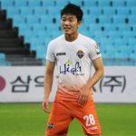 Lương Xuân Trường lần thứ hai đá chính cho Gangwon