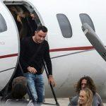 Xavi, Eto'o đi chuyên cơ tới dự đám cưới Messi