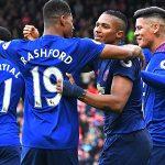 Vượt mặt Arsenal, Man Utd lên thứ năm Ngoại hạng Anh