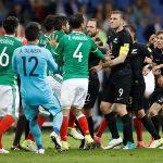 Hỗn chiến tại Confederations Cup 2017