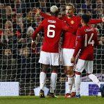Ibrahimovic lập hat-trick, Man Utd đại thắng ở Europa League