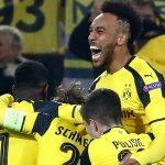 Aubameyang lập hat-trick, Dortmund loại Benfica