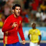 Morata bấm nút 'like' thông tin chuyển sang Man Utd