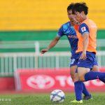 Công Phượng ghi bàn trong buổi tập của U23 Việt Nam