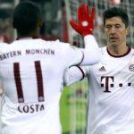 Lewandowski lập cú đúp, Bayern thắng ngược trận mở màn 2017