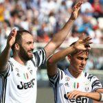 Higuain lập cú đúp, Juventus tăng cách biệt với Roma