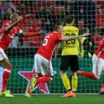 Aubameyang đá hỏng phạt đền, Dortmund thất thế trước Benfica