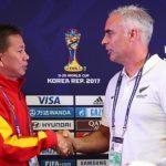 HLV New Zealand rủ U20 Việt Nam 'đấm bốc'