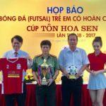 Bình Định đăng cai giải futsal cho trẻ em hoàn cảnh đặc biệt