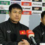 HLV Hữu Thắng: 'Cầu thủ thay thế chưa kịp vào khi Việt Nam nhận bàn thua'