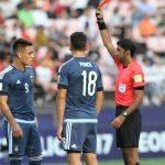 Sao tiền đạo Argentina lĩnh thẻ đỏ ngay trận ra quân ở U20 World Cup