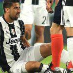 Juventus thấp thỏm chờ kết quả chấn thương của Khedira