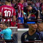 Ronaldo và Torres sỉ nhục nhau trong trận Atletico - Real Madrid
