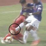 Ban trọng tài VFF: 'Samson chỉ trượt lên đầu gối cầu thủ HAGL'