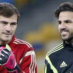 Casillas, Mata, Fabregas mất suất lên tuyển Tây Ban Nha