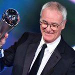 Ranieri vượt Zidane, đoạt giải HLV hay nhất năm 2016