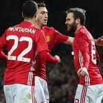 Mourinho chỉ trích cầu thủ Man Utd vì mừng bàn thắng của Mata