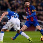 Đá phạt đền ở phút 90, Messi cứu Barca khỏi nguy cơ mất điểm