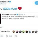 Rooney đăng một loạt ảnh tri ân Man Utd
