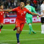 Sanchez lập công, Chile chia điểm với Đức