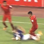 Cầu thủ Hà Nội bị treo giò 8 trận vì pha bóng thô bạo ở V-League