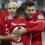 Lewandowski lập cú đúp đưa Bayern vào bán kết Cup quốc gia