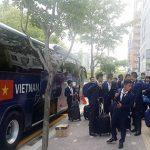 U20 Việt Nam đến địa điểm thi đấu ở World Cup