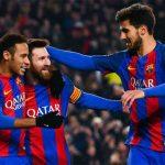 Trút mưa bàn thắng, Barca vào bán kết Cup Nhà vua
